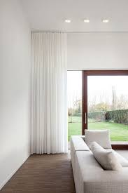 Of Curtains For Living Room 17 Best Ideas About White Curtains On Pinterest Bamboo Blinds