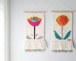 crochet wall art weaving projects