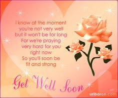 Get Well Wishes Quotes hope you feel better quotes for facebook images of get well soon 43