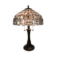 brown table lamps. 24 In. Multicolored Tiffany Style Floral Design Table Lamp Brown Lamps
