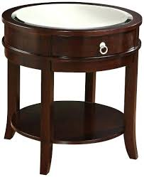 round espresso end table round dark espresso wood end table by universal lighting and decor save