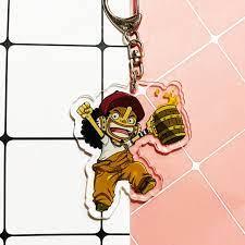 Mica trong acrylic ) Móc khóa One Piece Đảo hải tặc ver Kanpai xinh xắn dễ  thương anime chibi tặng ảnh Vcone