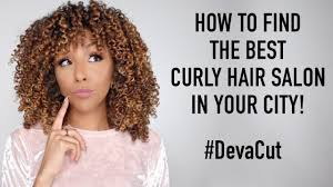 how to find the best curly hair salon