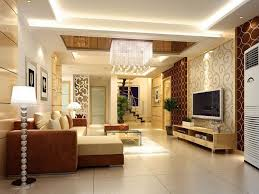 Luxury POP False Ceiling Design Ideas For Living Room Interior With Flat  Screen TV Idea