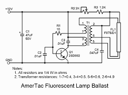 various schematics and diagrams amertac fluorescent lamp inverter