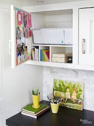 Image Built Tailor Desk Cabinet Shelves Houzz Creative Kitchen Storage Cabinet Ideas