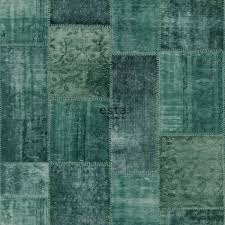 chalk printed eco texture non woven wallpaper Oriental ibiza