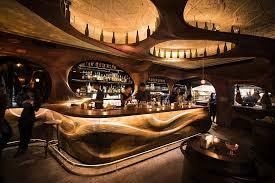 Bar Raval Toronto: Art Nouveau Meets Intoxicating Design in Sculpted  Mahogany