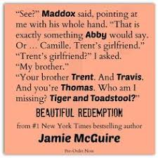Beautiful Redemption Quotes Best Of Beautiful Burn By Author Jamie McGuire TylerMaddoxIsComing
