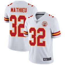 Player Youth Chiefs Kansas Football Jersey Tyrann Untouchable Vapor City Sale White 32 Mathieu Limited