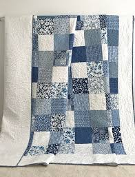 interesting blue delft blue cotton patchwork quilt bedding quilting 2 bedding and border and