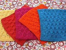 Sugar And Cream Knit Dishcloth Pattern Extraordinary Ravelry Honeycomb Check Dishcloth Pattern By Lily Sugar'n Cream