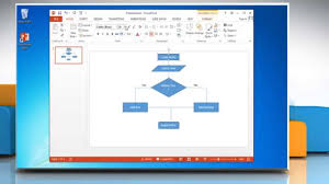 Ppt Flow Chart Template How To Make A Flow Chart In Powerpoint 2013 Youtube