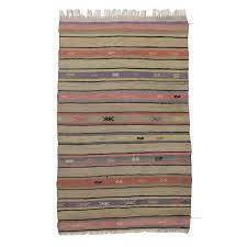 bring vintage charm to you home with pink striped kilim pink purple kilim rug