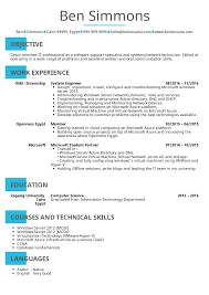 Cv Examples Administration Resume Examples By Real People System Administrator Cv Sample