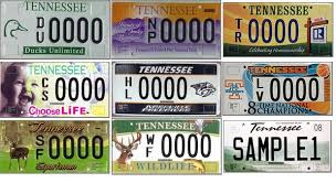 Specialty Tennessee Wftz License Plate News