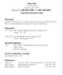 Creating A Resume For Free Simple To Make A Resume For Free Also Make My Own Resume Build A Resume For