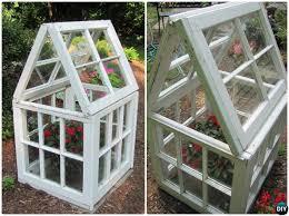 diy mini window greenhouse 15 diy green house projects instructions