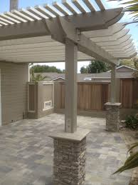 paver patio with pergola. New Patio With Pergola, We Used Angelus Pavers In This Design Paver Pergola