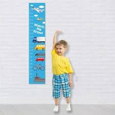 Details About Personalised Height Growth Chart Planes Trucks Cars Fun Boys Gift Idea For Kids