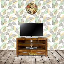 Sheesham Bedroom Furniture Tns Furniture Mansa Sheesham Corner Tv Cabinet