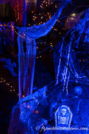 halloween outdoor lighting. These Outdoor Halloween Lighting Ideas Are AWESOME!! I\u0027m Definitely Using Some Of