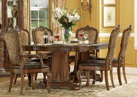 Black Printed Chairs Formal Dining Room Sets Four Chrome Square - Formal round dining room sets