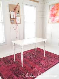 office rug. White Floors With A Gorgeous Pink Rug Office /