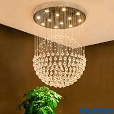 Led K9 Moderne Kristall Kronleuchter Leuchte Luxus K9 Kristalline Kronleuchter Beleuchtung Indoor Home Decocation Hängen Pendelleuchten