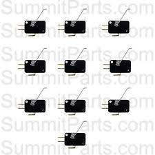coin drop 10pk coin drop switches for dexter washers and dryers 9732 126 001