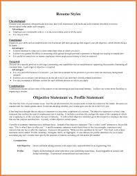 resume mission statement