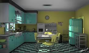 Retro Kitchen Retro Kitchen With Inspiration Photo 60710 Fujizaki