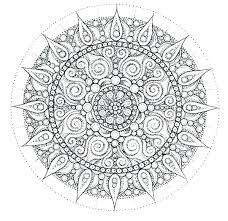 Free Mandala Coloring Pages Online Animal Mandala Coloring Pages