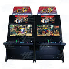 street fighter 4 back to back arcade cabinet video games