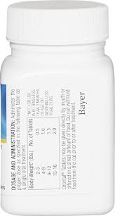 Drontal Feline Dosage Chart Drontal Tablets For Cats 2 16 Lbs 1 Tablet