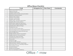 Office Move Project Plan Template