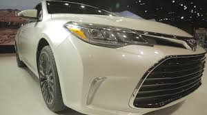 2015 Toyota Avalon Fog Light Assembly 2016 Toyota Avalon 2015 Chicago Auto Show