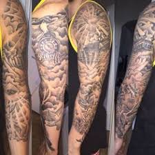tattoo sleeve designs clouds. Modren Clouds Stairway To Heaven Tattoo Dove Cloud Eye Anchor  Family Sleeve Sleevetattoorelease All Evil On Tattoo Sleeve Designs Clouds E