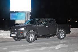 2020 Isuzu D-Max Pickup Truck Spied With Full-LED Headlights ...