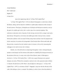 essay poststructuralist interpretation of hemingway s a clean essay 2 poststructuralist interpretation of hemingway s a clean well lighted place nihilism deconstruction