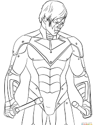 Lego Nightwing Coloring Page Auto Electrical Wiring Diagram