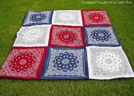 Red White and Blue Picnic Quilt - Scattered Thoughts of a Crafty ... & Red White and Blue Picnic Quilt - Scattered Thoughts of a Crafty Mom by  Jamie Sanders Adamdwight.com