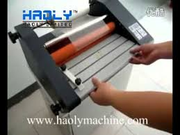 <b>FM 360</b> roll laminator video - YouTube