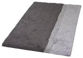 anthracite gray non slip luxury cotton bathroom rug life contemporary bath mats by vita futura