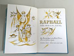 RAPHAEL the Herald ANGEL book by Appel & Hudson illustrated | Etsy