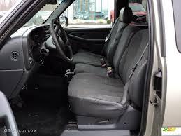 Graphite Gray Interior 2002 Chevrolet Silverado 1500 Extended Cab ...