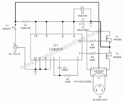 solar power inverter circuit 12v solar power inverter circuit diagram