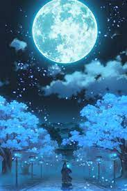Anime Moonlight Wallpapers - Top Free ...