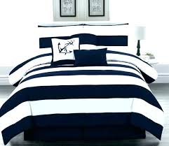 navy and white striped bedding rugby stripe bedspread quilt pottery barn best images on blue comforter set