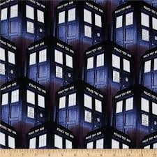BBC Doctor Who Packed Tardis Blue - Discount Designer Fabric ... & BBC Doctor Who Packed Tardis Blue - Discount Designer Fabric - Fabric.com Adamdwight.com